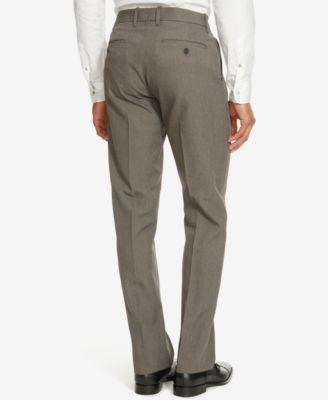 Kenneth Cole Reaction Mens Simon Flat Front Pants