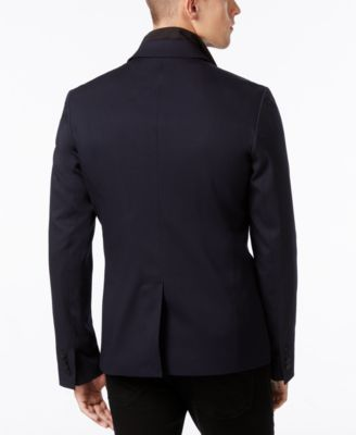 Kenneth Cole New York Mens Knit Blazer