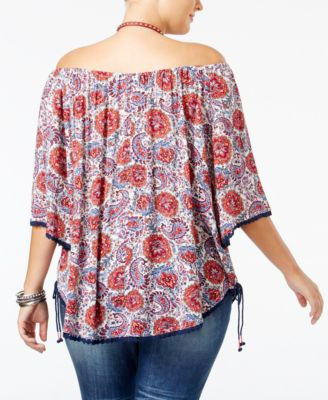 American Rag Trendy Plus Size Off-The-..