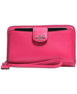 COACH Boxed Universal Wallet with Phone Pocket in Calf Leather