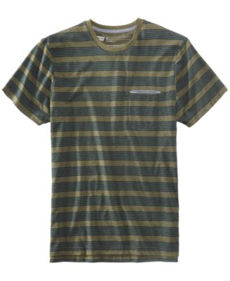 LEVI'S Levi'S® Men'S Heathered Striped T-Shirt in Dark Olive