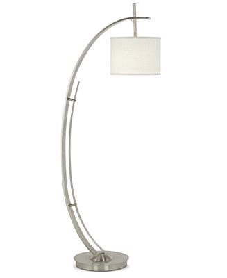 vertigo arc floor lamp lighting lamps for the home macy 39 s. Black Bedroom Furniture Sets. Home Design Ideas