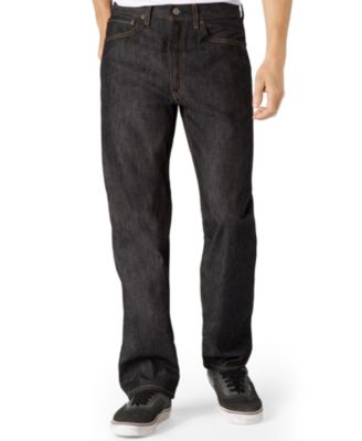 Levis Mens Big and Tall 501 Original Shrink to Fit Jeans