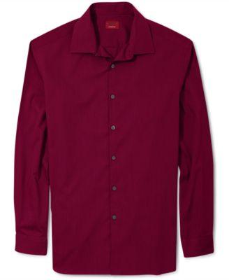 Alfani Mens Pinstripe Long-Sleeve Shir..