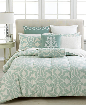 Closeout Barbara Barry Poetical Celadon Collection Bedding Collections Bed Bath Macy 39 S