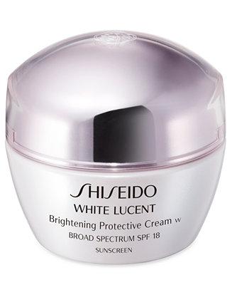 Shiseido White Lucent Brightening Protective Cream Skin