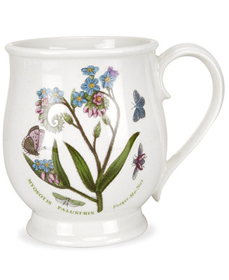 Portmeirion Dinnerware Botanic Garden Bristol Mug Bar Wine Accessories Dining