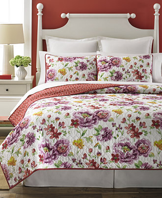 Martha Stewart Collection Lenora Quilts Quilts