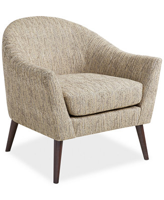 Collin Fabric Accent Chair Direct Ship Furniture Macy S