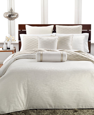Hotel Collection Woven Texture Bedding Collection Only At