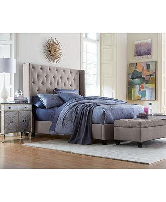 Rosalind Upholstered Bedroom Furniture Furniture Macy s