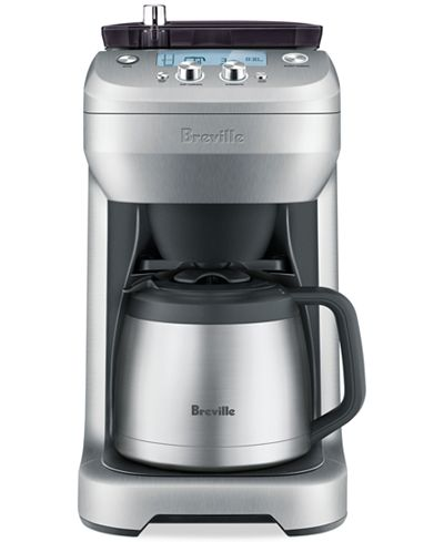 Breville Coffee Maker Set Timer : Breville BDC650BSS Grind Control Coffee Maker - Coffee, Tea & Espresso - Kitchen - Macy s