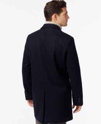 Tommy Hilfiger Melton Notch-Collar Coat
