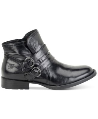 Born Pirlo Buckle Booties