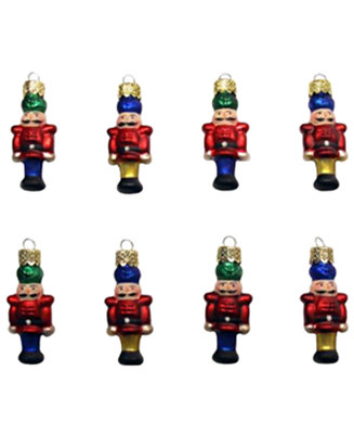 Kurt Adler Set Of 8 Petite Treasures Mini Holiday