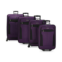 Deals on Travel Select Segovia 4 Piece Spinner Luggage Set