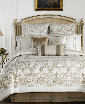 Croscill Monroe Ivory Bedding Collection Bedding Collections Bed Amp Bath Macy S