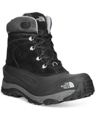 The North Face Mens Chilkat II Waterproof Lace-Up Boots