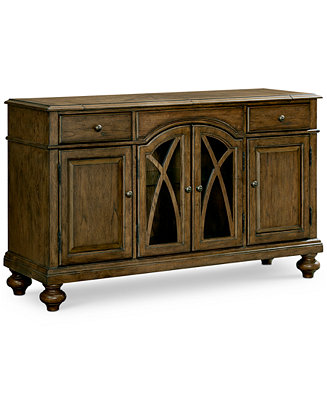 Oak harbor sideboard furniture macy 39 s for Oak harbor furniture