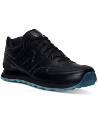 New Balance Men\u0026#39;s 574 Mono Perf Ice Casual Sneakers from Finish Line