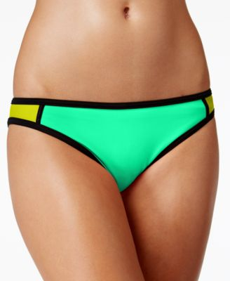 Hula Honey Colorblocked Hipster Bikini..