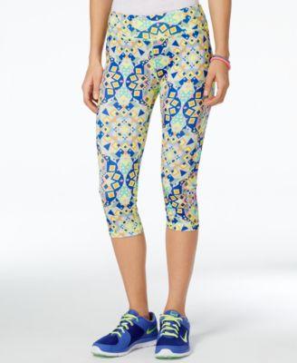 Energie Active Juniors Paula Printed Cropped Leggings