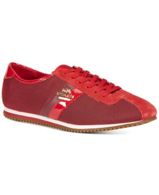 COACH Ivy Mesh Lace-up Sneakers