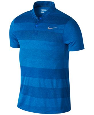 Nike Mens Dri-Fit Jacquard-Print Golf ..