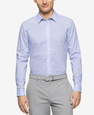 Calvin Klein Mens Slim-Fit Geometric-P..