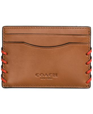 COACH Men's Boxed Rip and Repair Card Case in Sport Calf Leather