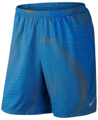 Nike Mens Distance Printed Running Sho..