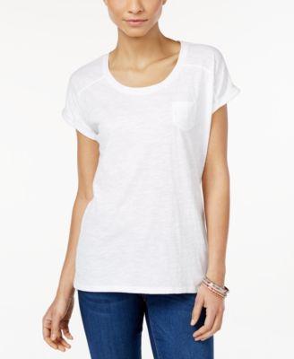 Style & Co. Pocket T-Shirt