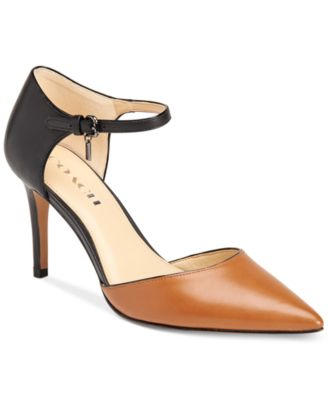 COACH Seline Two-Piece Pointy-Toe Pumps