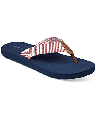 tommy hilfiger calie flip flops sandals shoes macy 39 s. Black Bedroom Furniture Sets. Home Design Ideas