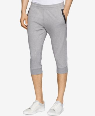 Calvin Klein Mens Mixed Media Three-Qu..