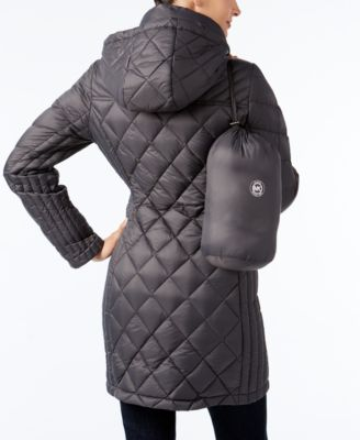 MICHAEL Michael Kors Petite Quilted Packable Puffer Coat