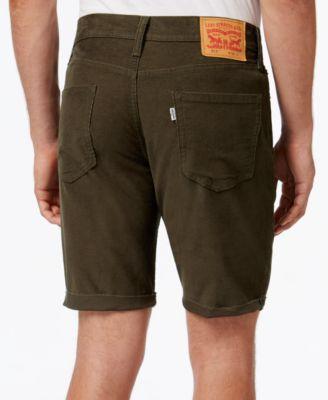Levis® Mens 511 Cut-Off Corduroy Shorts