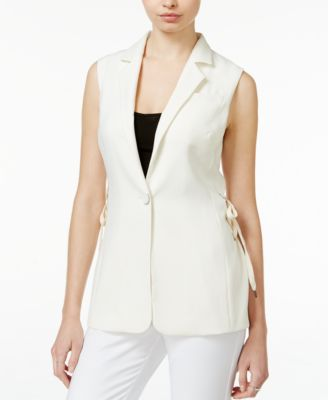 RACHEL Rachel Roy Lace-Up Vest