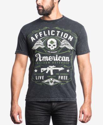 Affliction Mens Defender Graphic-Print..