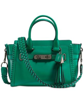 COACH Rip and Repair Swagger 27 Carryall in Glovetanned Leather