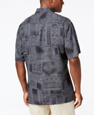 Campia Moda Mens Print Short-Sleeve Sh..