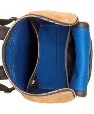 Jack Spade Mens Suede Utility Backpack