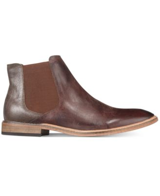 Kenneth Cole Reaction Mens Prove-N Step Plain-Toe Chelsea Boots