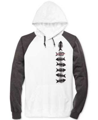 Maui and Sons Mens Graphic-Print Hoodie