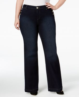 Style & Co. Plus Size Rinse Wash Bootcut Jeans, Only at Macy's