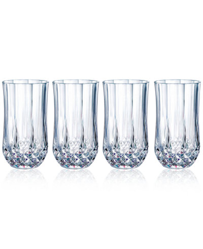 Longchamp Set of 4 Highball Glasses