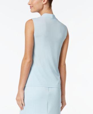 Calvin Klein Tie-Neck Shell