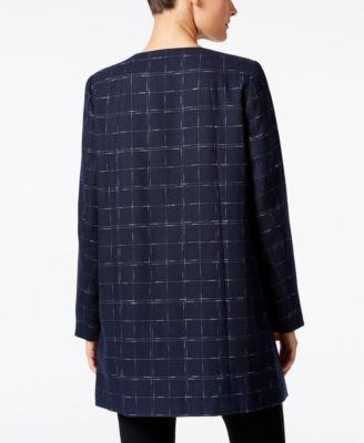 Alfani Plaid Jacket