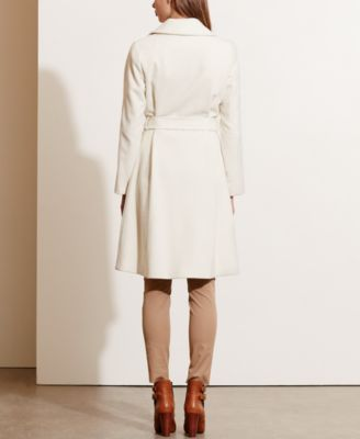 Lauren Ralph Lauren Wool-Cashmere-Blend Wrap Coat