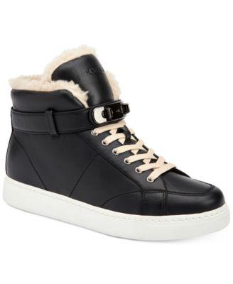 COACH Richmond Shearling Detail Sneakers